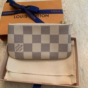 Louis Vuitton Azur key pouch